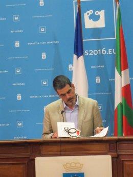 Eneko Goia, alcalde de San Sebastián.