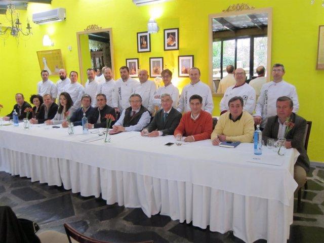 Firma acuerdo entre cocineeros extremeños y las DOP e IGP de la región