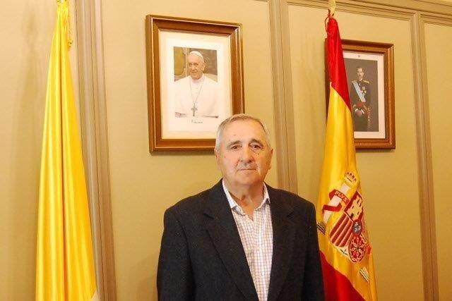 Nuevo director de Cáritas Castrense, el teniente general Rafael Barbudo