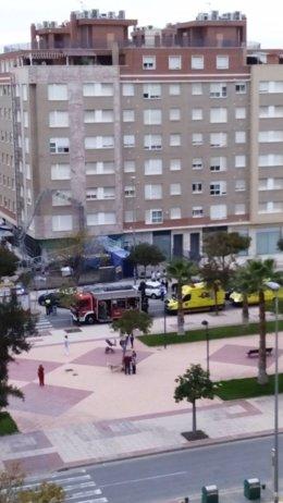 Accidente laboral en Murcia