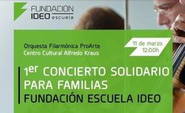 Fundación Escuela Ideo celebra su primer concierto solidario para apoyar a familias en situación de vulnerabilidad