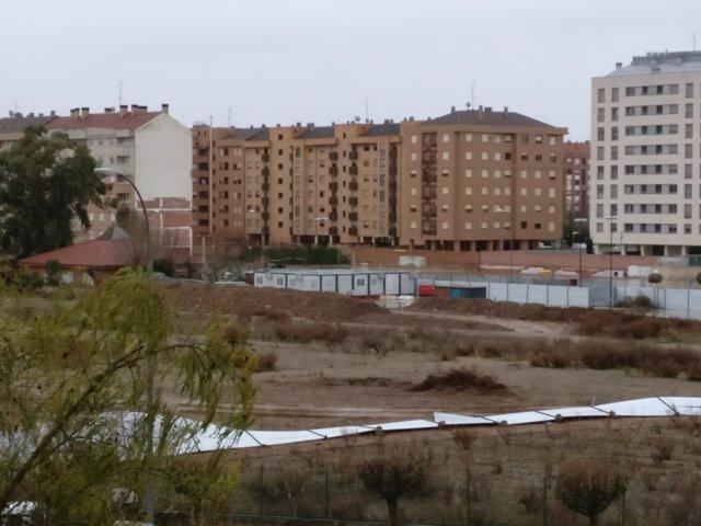 Fuertes vientos en Logroño