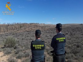 La Guardia Civil detiene dos personas por estafar a cazadores con permisos falsos