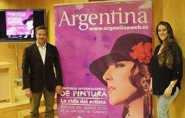 La artista Argentina presenta en Diputación su quinto disco y su espectáculo dentro de la Bienal de Flamenco
