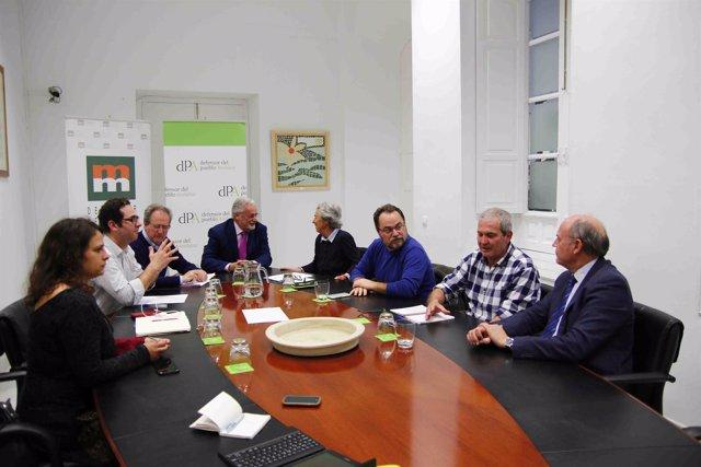 Reunión de Salvemos Doñana con el Defensor del Pueblo Andaluz