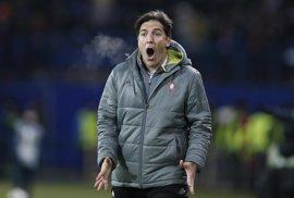 """Berizzo: """"Me encantaría ser el entrenador que más ha dirigido al Celta"""""""