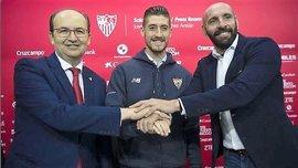 """Escudero, renovado con el Sevilla hasta 2021: """"Me siento un privilegiado"""""""