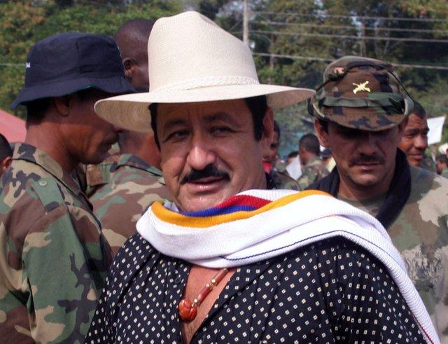 Paramilitar de Colombia Hernan Giraldo
