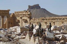Más de 1.000 milicianos de Estado Islámico han muerto en la toma de Palmira, según el Kremlin