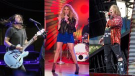 De Axl Rose y Dave Grohl a Paulina Rubio: 20 caídas en pleno concierto tan dolorosas como memorables