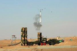 Irán prueba con éxito un sistema de defensa antimisiles de fabricación rusa