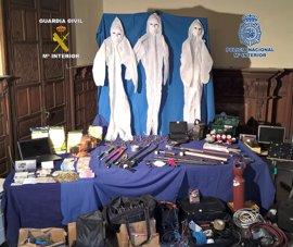 Desarticulada una organización acusada de explosionar cajeros de banco en Sevilla, Cádiz, Málaga y Jaén