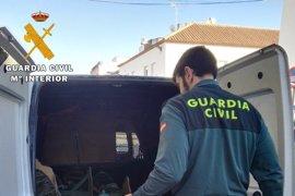 Detenidos en La Carlota (Córdoba) dos acusados del robo en una vivienda