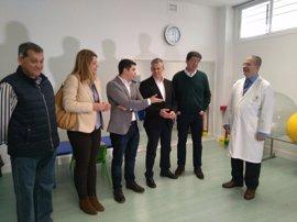 Marín (Cs) visita el Centro Comarcal de Desarrollo Infantil y Atención Temprana 'Bajo Guadalquivir' en Cádiz