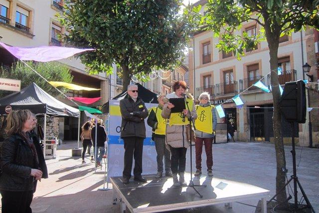 Ignacio Bernardo Jiménez, a la izquierda