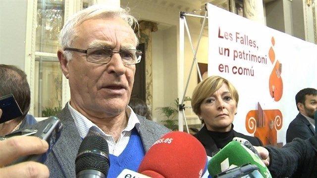 El alcalde de València en una imagen de archivo