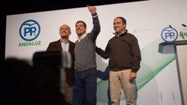 """Moreno exige a la Junta de Andalucía que """"deje de maltratar"""" a Málaga y que """"cuide el gran motor"""" que es"""