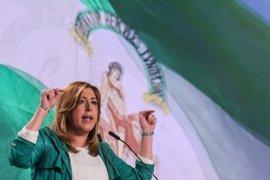 """Susana Díaz: El PSOE tiene que saber a """"quién se debe"""" y qué quiere para España"""