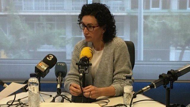 Marta Rovira (ERC) en Catalunya Ràdio
