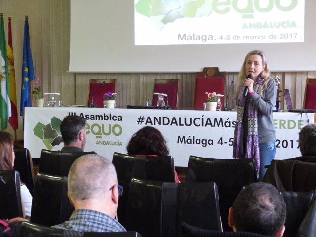 Inauguración de la III Asamblea de Equo Andalucía