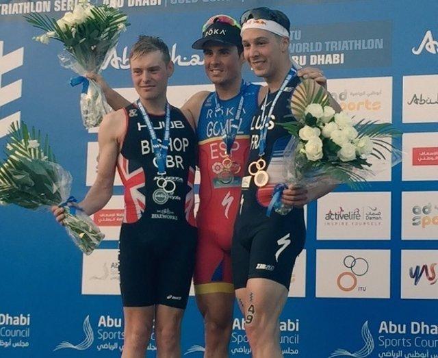 Javier Gómez Noya triatlón Series Mundiales Abu Dabi Dhabi