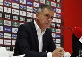 """Alcaraz: """"Hemos sido perjudicados en la designación de los partidos, llegamos con gente muy cansada"""""""
