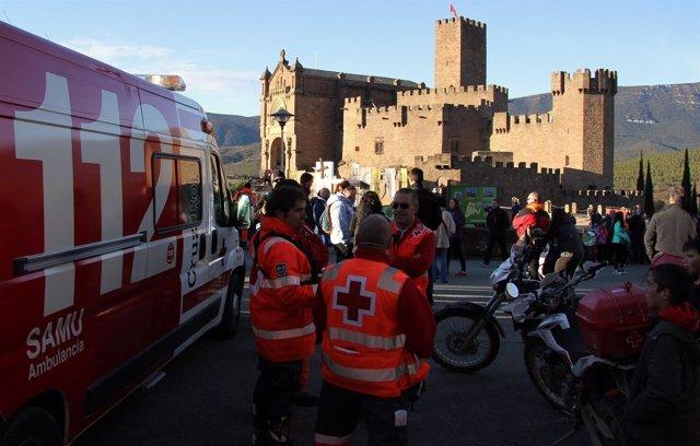Balance Segunda Jornada 1ª Javierada 2017 Cruz Roja Navarra