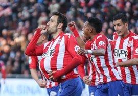 El Girona mete presión al Levante y el Oviedo se coloca cuarto