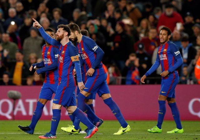 El Barcelona se rearma goleando al Celta