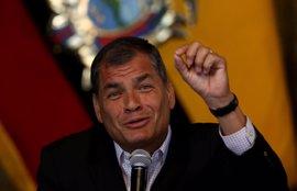 """Correa señala que la oposición prepara """"un nuevo show de fraude electoral"""" para impugnar la segunda vuelta"""