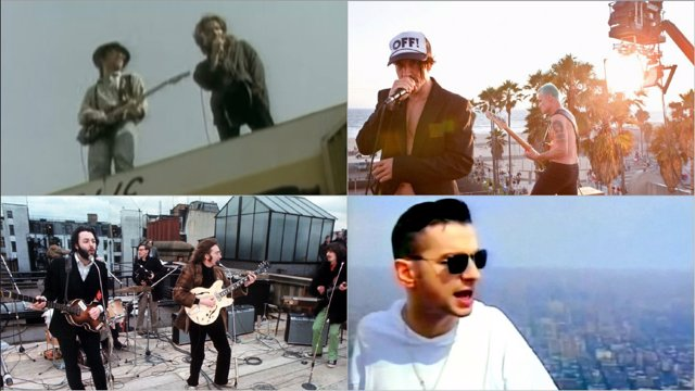 U2, BEATLES, RED HOT CHILI PEPPERS Y DEPECHE MODE