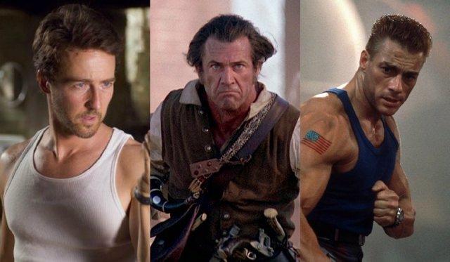 Edward Norton, Mel Gibson y Jean-Claude Van Damme