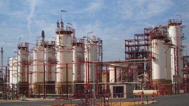 Planta de Cepsa Química en Palos de la Frontera (Huelva).