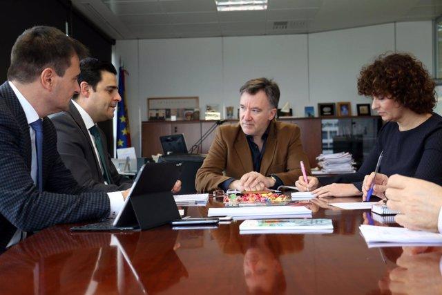 El director general del SEF, Alejandro Zamora