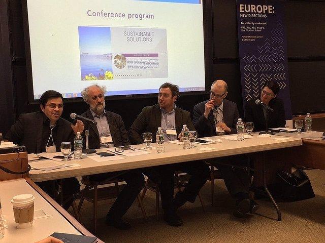 G. Pisarello en la European Conference 2017 de la Harvard Kennedy School
