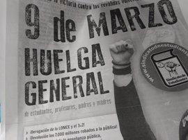 Padres, alumnos y sindicatos llaman a la huelga general educativa del próximo jueves