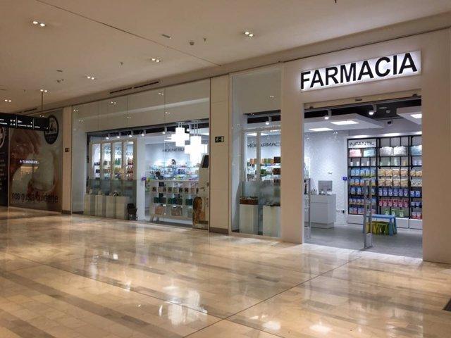 Nueva farmacia 24 horas en las instalaciones del Centro Comercial Los Arcos.