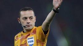 El turco Çakir arbitrará el Nápoles-Real Madrid