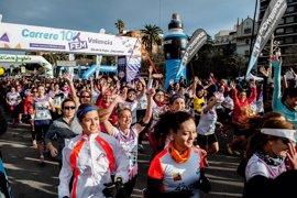 Fátima Ayachi se impone en la 10K femenina de València frente a 2.000 corredoras