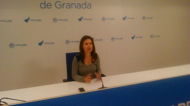 La portavoz de Igualdad y Políticas Sociales del PP-A, Ana Vanesa García