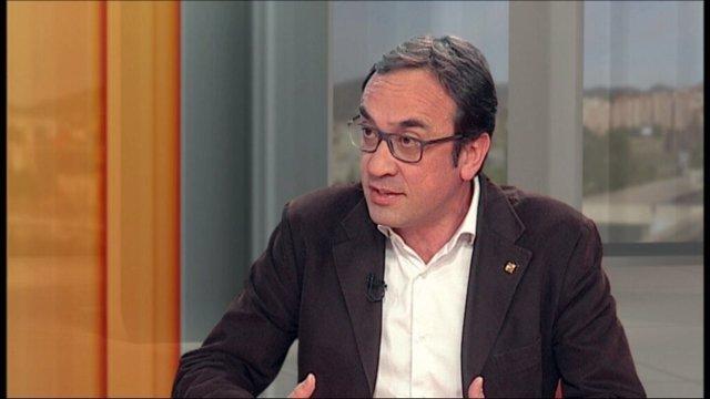 El conseller de Territori, Josep Rull, en el 324