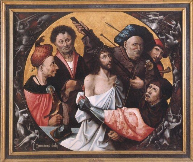 Obra  expuesta en el Museo de Bellas Artes de València