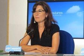 """Carmen Maniega (PP) califica de """"fracaso"""" el acuerdo de Mercedes Fernández con el PSOE sobre Sucesiones"""
