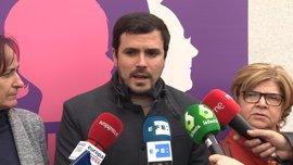 """Garzón (IU): """"El feminismo está siendo la punta de lanza en la defensa de los derechos humanos en general"""""""