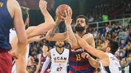 El Barça no convence pero vence y el Baskonia se pone segundo