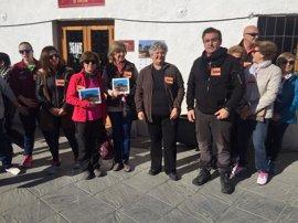 Más de mil personas en la Ruta de los Olivos de Órgiva (Granada) dentro de la VI Marcha 'Caminando contra el cáncer'