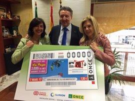 La ONCE promociona los Mundiales de Freestyle y Snowboard de Sierra Nevada (Granada) en su cupón