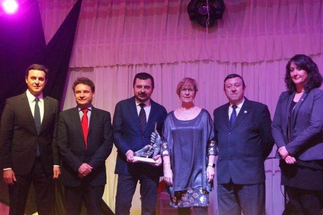Premio Andaluz del Año en Casa de Andalucía en Lleida para Toni Martín