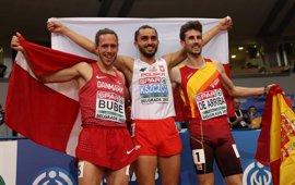 Álvaro de Arriba, bronce en 800 metros