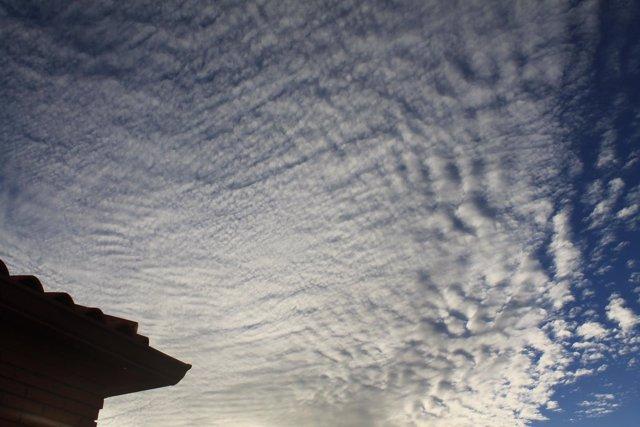 Nubes, Tiempo nuboso